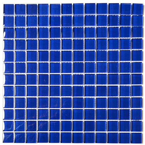 Dark Blue Mosaic Tiles